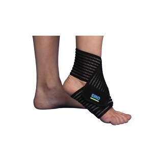 Vendaje elástico de tobillo con velcro | 80 cm | Talla única | STP080 | Emo