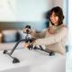 Pedalier | Ejercitador de brazos y piernas | Goma antideslizante | Camino | Mobiclinic - Foto 9